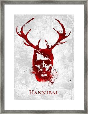 Hannibal Tv Show Poster Framed Print