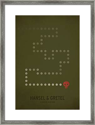 Hansel And Gretel Framed Print by Christian Jackson