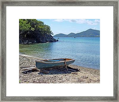Hansen Bay 2 Framed Print