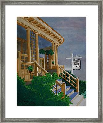 Hansen House Framed Print