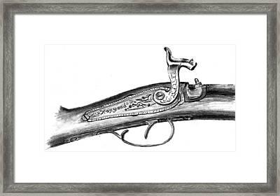 Hapgood Musket Framed Print by Kevin Callahan