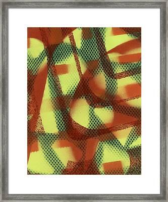 Hapless Meditation Framed Print