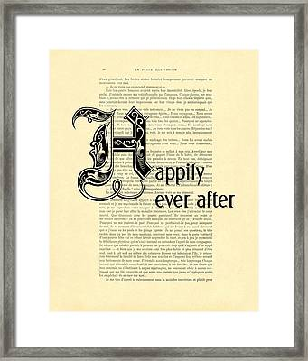 Happily Ever After Framed Print by Madame Memento