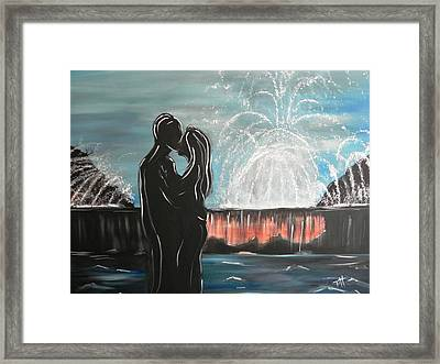 Happily Ever After Framed Print by Patti Spires Hamilton