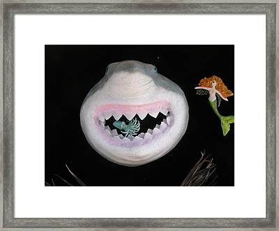 Happiness Is  Framed Print by Dan Townsend