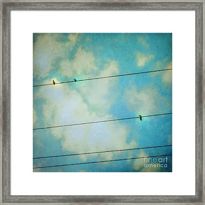 Happiness Framed Print by Priska Wettstein