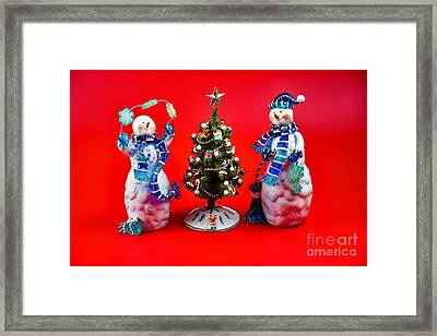 Happiness To You And Yours Framed Print by Ray Shrewsberry