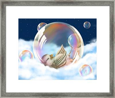 Happiness Framed Print by Veronica Minozzi