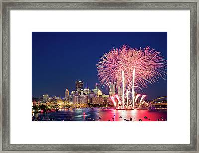 Happy 4th  Framed Print