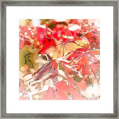 Happy Autumn Framed Print