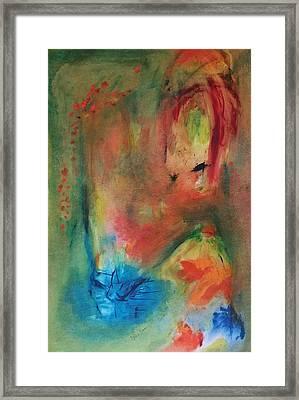 Happy Framed Print by Barbara Reale