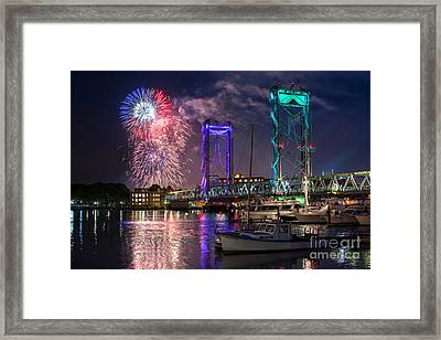 Happy Birthday America 2015 Framed Print