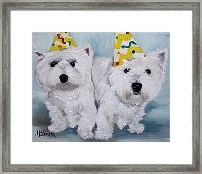 Happy Birthday Framed Print by Mary Sparrow