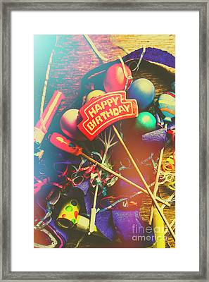 Happy Birthday Framed Print by Jorgo Photography - Wall Art Gallery