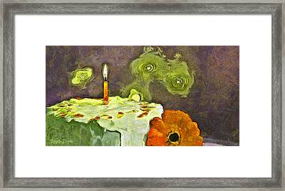 Happy Birthday - Pa Framed Print by Leonardo Digenio