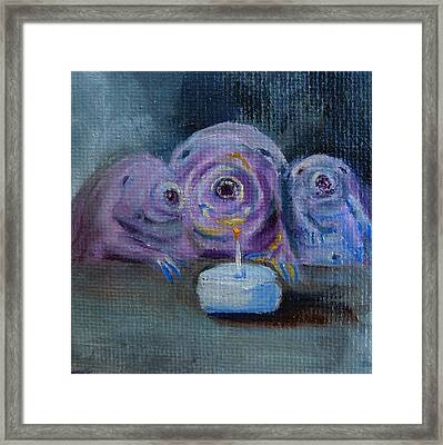Happy Birthday Water Bear You Are Loved Framed Print