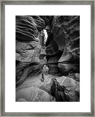 Happy Canyon Framed Print