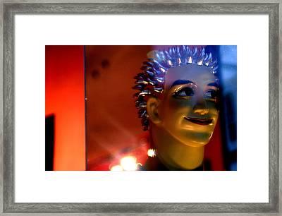 Happy Chappy Framed Print by Jez C Self