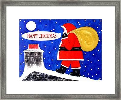 Happy Christmas 12 Framed Print by Patrick J Murphy