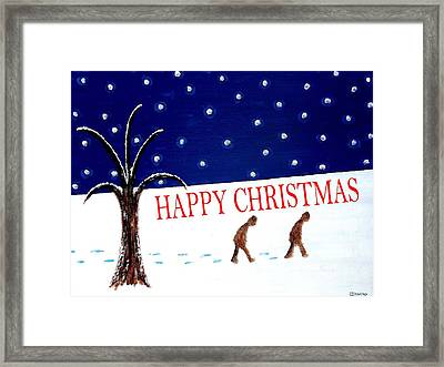 Happy Christmas 15 Framed Print by Patrick J Murphy