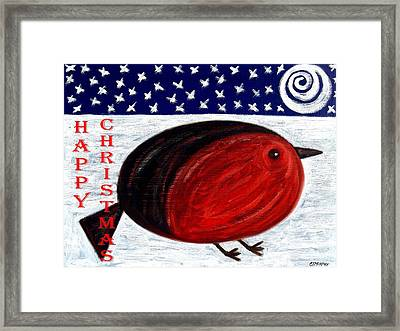 Happy Christmas 16 Framed Print by Patrick J Murphy