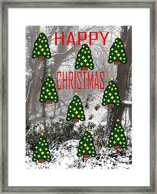 Happy Christmas 22 Framed Print by Patrick J Murphy