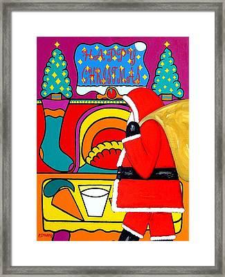 Happy Christmas 30 Framed Print by Patrick J Murphy