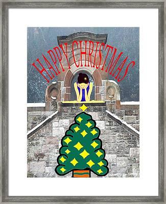 Happy Christmas 31 Framed Print by Patrick J Murphy