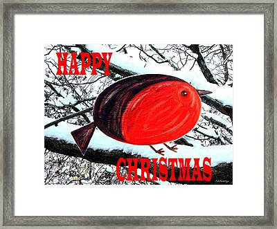 Happy Christmas 42 Framed Print by Patrick J Murphy