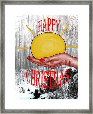 Happy Christmas 46 Framed Print by Patrick J Murphy