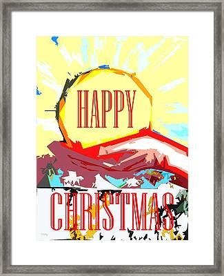 Happy Christmas 53 Framed Print by Patrick J Murphy