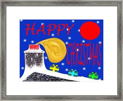 Happy Christmas 65 Framed Print by Patrick J Murphy