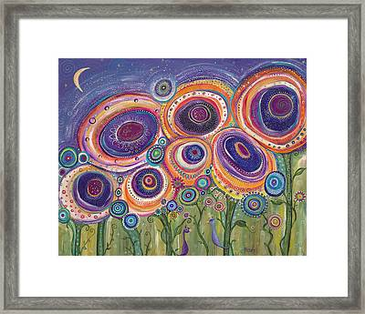Happy Dance Framed Print by Tanielle Childers