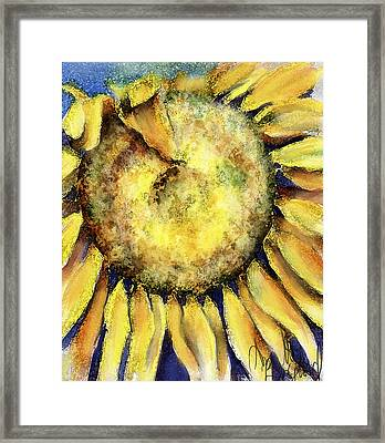 Framed Print featuring the painting Happy Day by Annette Berglund