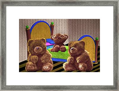 Happy Days Before Goldilocks Framed Print