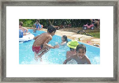 Framed Print featuring the photograph Happy Days by Beto Machado