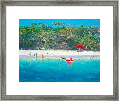 Happy Days Framed Print by Jan Matson