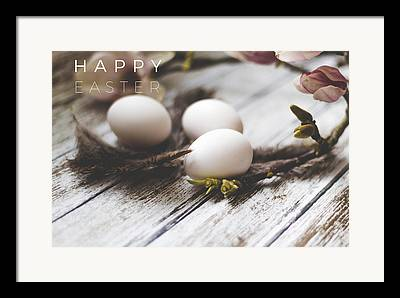 Easter Egg Framed Prints