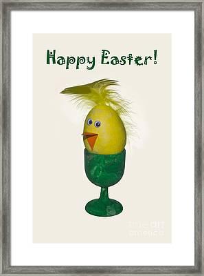 Happy Easter Framed Print by Sverre Andreas Fekjan