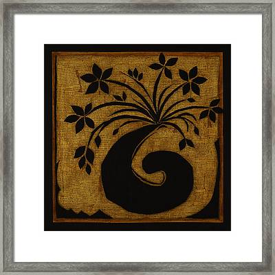 Happy Exuberance Framed Print