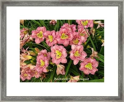 Happy Faces Framed Print by Sandy Collier