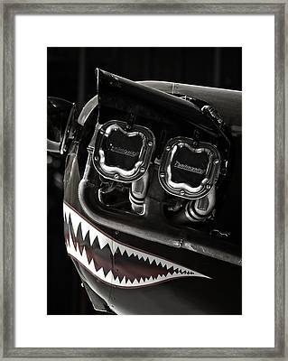 Happy Flying Framed Print