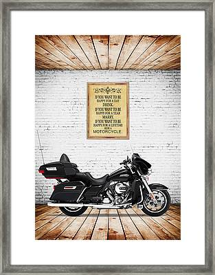 Happy For A Day Framed Print