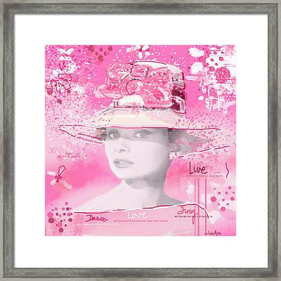 Happy Girl Framed Print