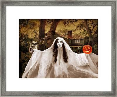 Happy Halloween Framed Print by Jessica Jenney