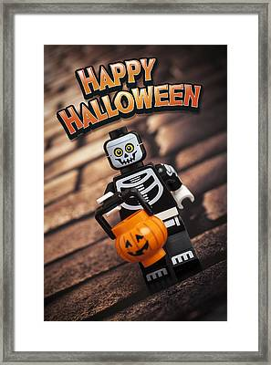 Happy Halloween Framed Print by Samuel Whitton