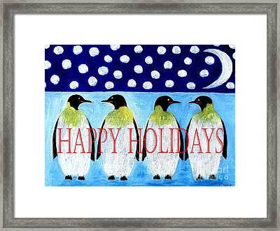 Happy Holidays 13 Framed Print by Patrick J Murphy