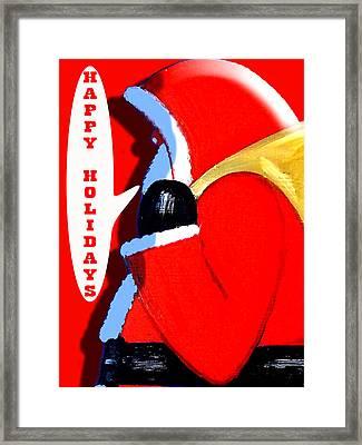 Happy Holidays 6 Framed Print by Patrick J Murphy