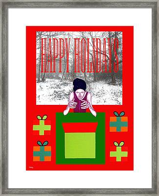 Happy Holidays 63 Framed Print by Patrick J Murphy