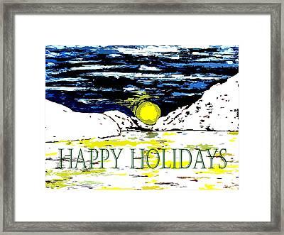 Happy Holidays 82 Framed Print by Patrick J Murphy